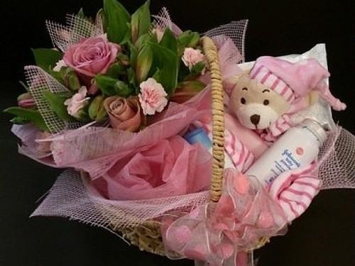 5ea45e899dd3 Beautiful Baby Gift Basket – Ilam Florist