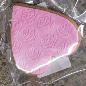 Pink Gingerbread Heart