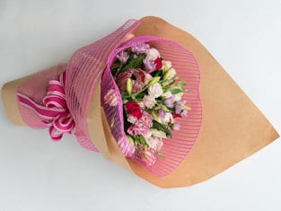 pretty pink bouquet